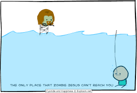 Zombie Jesus Meme - cyanide happiness explosm net