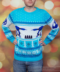 wars at at hoth unisex knitted sweater jumper