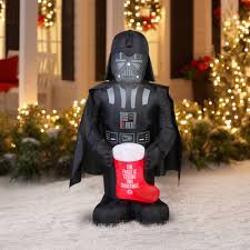 wars christmas decorations 5 airblown darth vader with wars