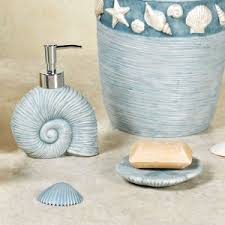 coffee tables seashell shower curtain bathroom set starfish