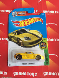 porsche yellow porsche carrera gt 74 yellow 2016 wheels case n grana toys