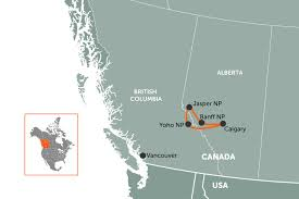 map your usa road trip a canadian rockies road trip travel nation