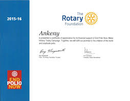 Hole In One Certificate Template Stories Rotary Club Of Ankeny