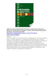 Dissertations In Education Dissertation Education Help Research Ssays For Sale