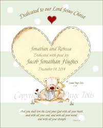 personalized baby dedication gifts a sweet baby dedication gift of personalized for the christian