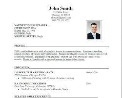 Resume Vs Vita Curriculum Vitae Sample College Professor Curriculum Vitae By