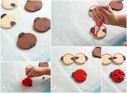 ladybug cookies cookies with simple ladybugs the bearfoot baker