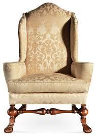 Traditional Armchairs Irish Sofas 18th Century Style Irish Chippendale Camelback Sofa