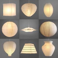 paper lantern light fixture modern white paper lantern l shade ceiling pendant light a pair