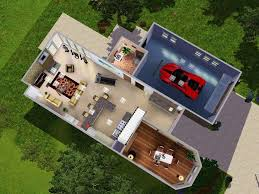 modern loft style house plans mod the sims modern loft