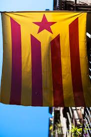 Barcelona Spain Flag Paulo Macedo Photography
