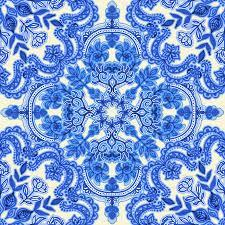 china designs cobalt blue china white folk art pattern wallpaper micklyn