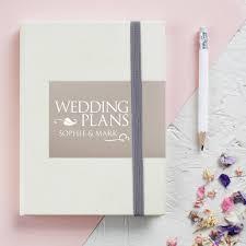 wedding planner organiser wedding planners and guest books notonthehighstreet