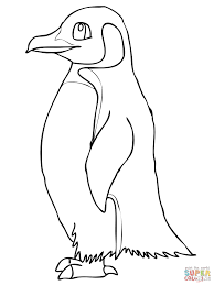 cute penguin on christmas coloring page coloring pages clipart