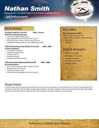 police resume resume resume police verification letter format