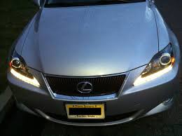 lexus is 250 headlight bulb pics of my 06 is250 with 2011my headlights w led