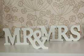 mr and mrs sign for wedding aliexpress buy free shipping mr mrs antique white wooden