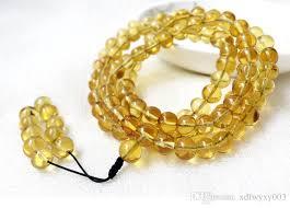 gold amber bracelet images 2018 2018 new burma amber bracelets 108 blue amber necklace beads jpg