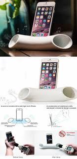 product image 4 design in mind pinterest ceramica ceramic speaker sound amplifier stand dock for smartphone