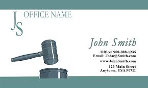 Lawyer Business Card Design Bankruptcy Lawyer White Business Card Design 401221