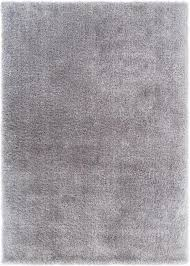 Silver Shag Rug Liza Silver Plush Shag Rug Well Woven