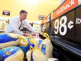 thanksgiving dinner will cost a more but local sales