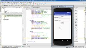 android layout width android login screen relative layout android studio tutorial
