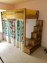 storage stairs for loft bed diy best made plans pinterest