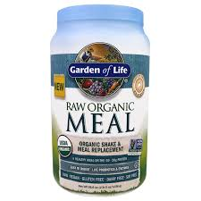 garden of life raw organic meal organic shake u0026 meal replacement