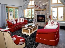 Bright Red Sofa Red Couches Decorating Ideas Red Sofa Idea For Contemporary