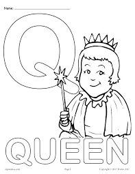 quail coloring page q coloring page uppercase letter q coloring page