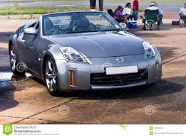 nissan convertible hardtop nissan 350z silver convertible editorial stock image image