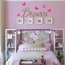 Vinyl Wall Stickers Custom Brianna Wall Decal Girls Room Childrens Wall Decal Wall Art Custom