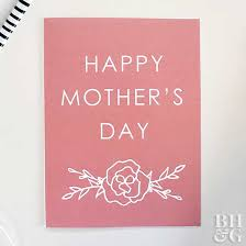 mothers day cards easy to make s day cards