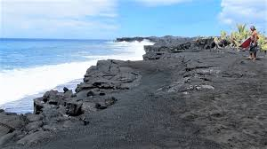 black sand beach big island punalu u black sand beach unique hawaii beaches