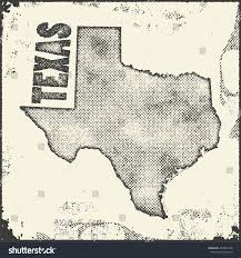 Usa State Map by Texas Vector Map Stamp Retro Distressed Stock Vector 483981508