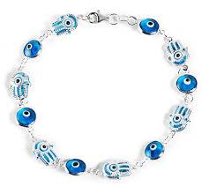 bracelet blue evil eye images 925 sterling silver hamsa hand fatima turkish blue evil eye jpg
