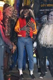 heidi klum dresses up as michael jackson u0027s thriller werewolf for