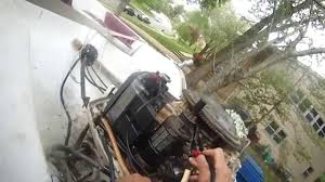 johnson 90 hp v4 how to jump start the starter motor without