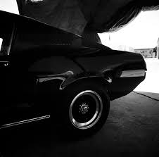 Black 68 Mustang Fastback Williams 1968 Mustang Fastback 6 Speed May 2016