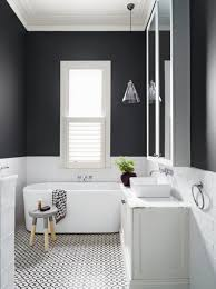 Black And White Bathroom Furniture These Small Bathrooms Will Give You Remodeling Ideas