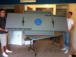 Custom Beer Pong Tables by Sweet Custom Beer Pong Table Sent In By Made In Detroit Fans