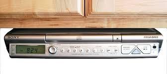 under cabinet kitchen radio cd player beautiful design kitchen radio under cabinet soundmaster highline