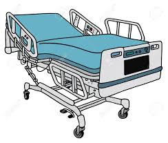 Drawing Of A Bed Hand Drawing Of A Modern Hospital Bed Royalty Free Cliparts