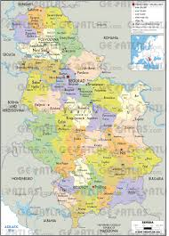Europe Map Cities by Geoatlas Countries Serbia Map City Illustrator Fully
