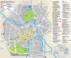 Map Of Genoa Italy by Vicenza Tourist Map