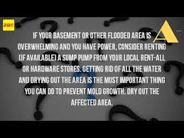 How To Dry Out A Basement by How Do You Clean A Flooded Basement Youtube