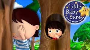 where did you go hide and seek nursery rhymes original
