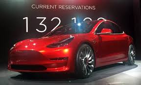 how does the performance of a tesla model 3 compare with similarly
