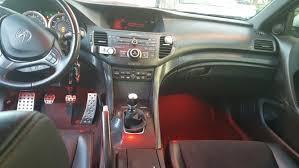 Acura Tsx 2006 Interior Acura Tsx 2012 Se Red Interior Lights Carbon Fiber Trim Red